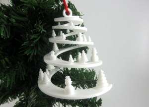 small winter tale i.materialise 3d printing xmas ornament