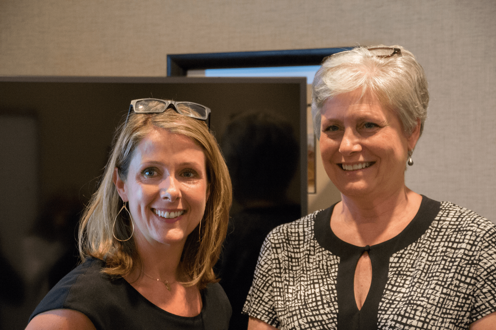 EPB's Danna Bailey and Kathy Burns with 3D Printing Industry