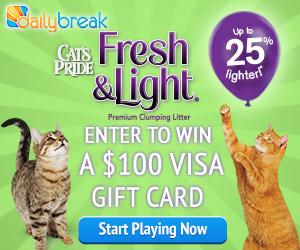 Cat's Pride Fresh & Light Challenge