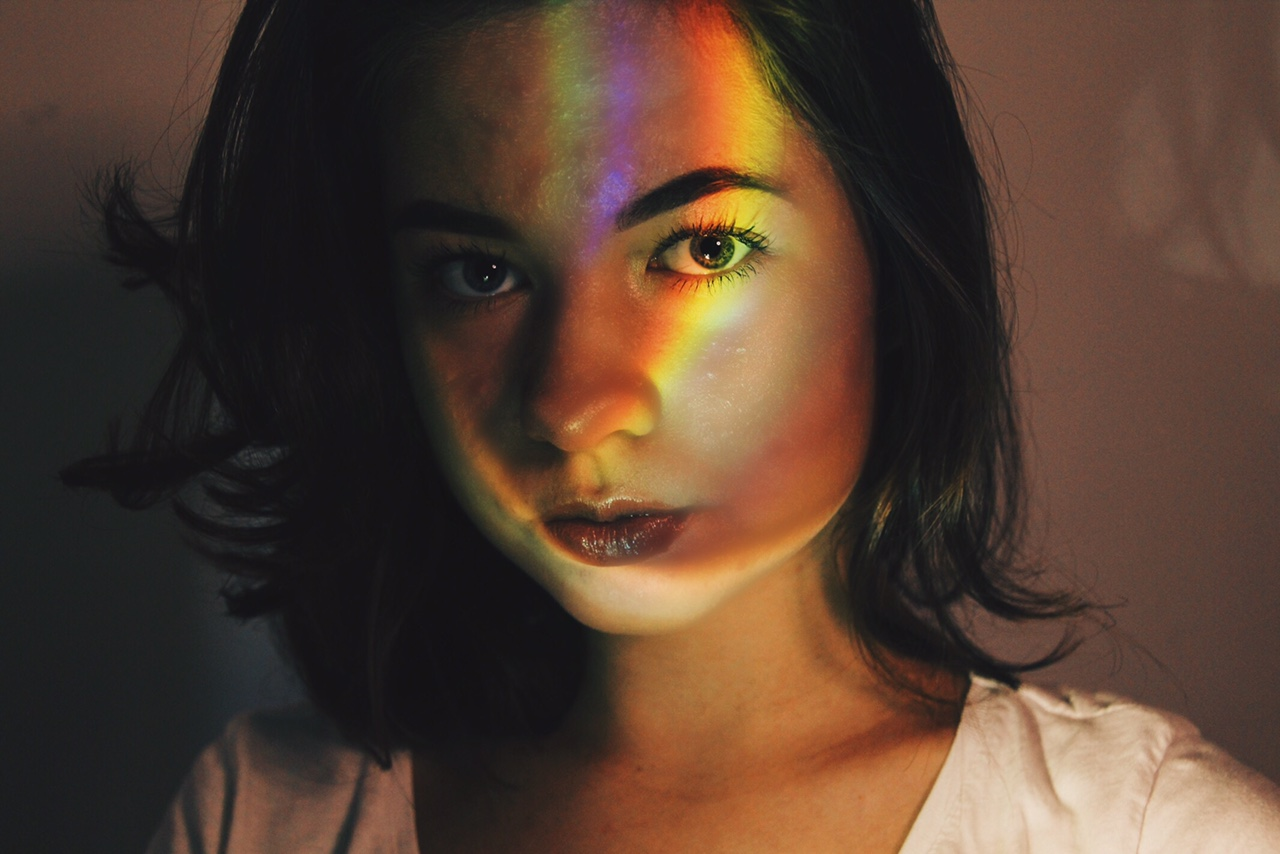How to: Tumblr rainbow light