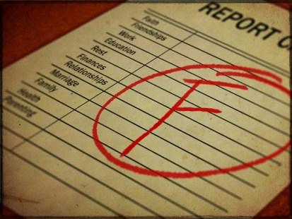 Bad report card
