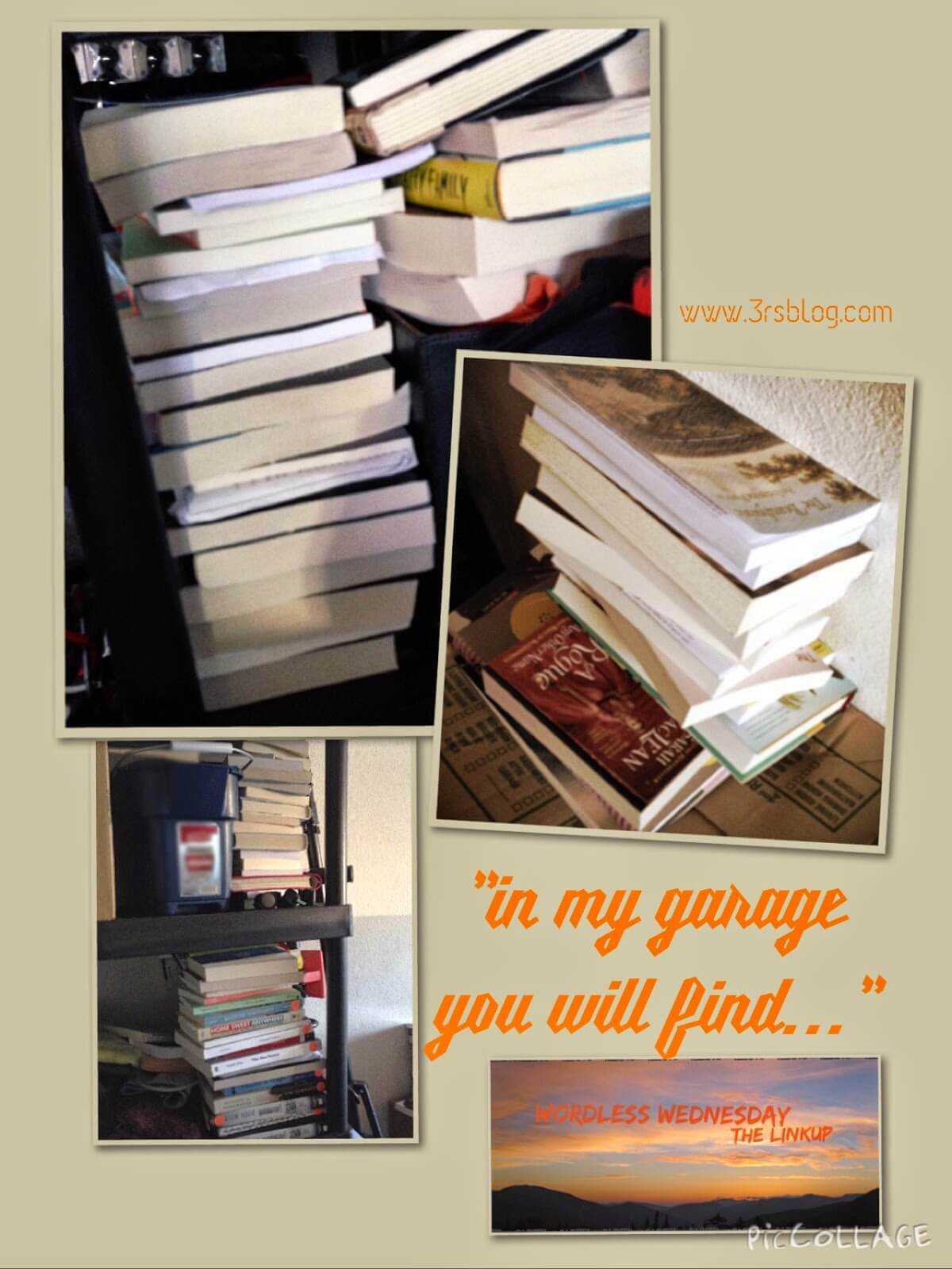 "#WordlessWednesday: ""In my garage you will find…"""