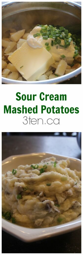 Sour cream mashed potatoes are the perfect side dish to any winter ...