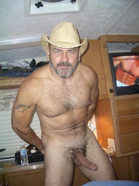 Valuable Redneck rough hairy men naked are