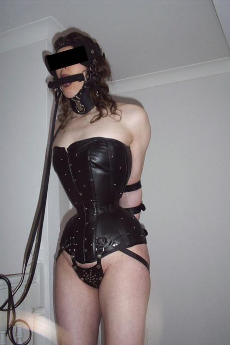 corset Discipline training bondage