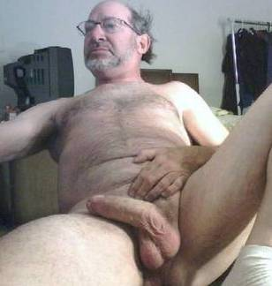 old man with big dick naked