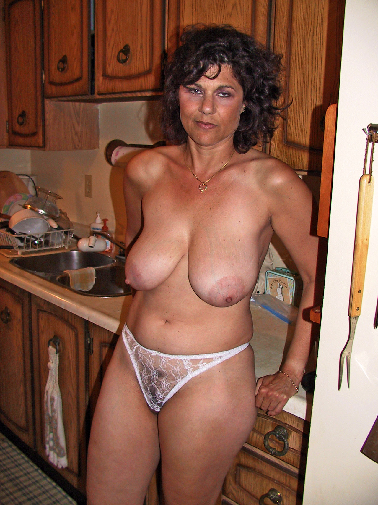 Can Embarrassed caught in her panties with