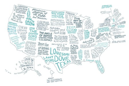 yeah write mxcleod the literary united states a map of