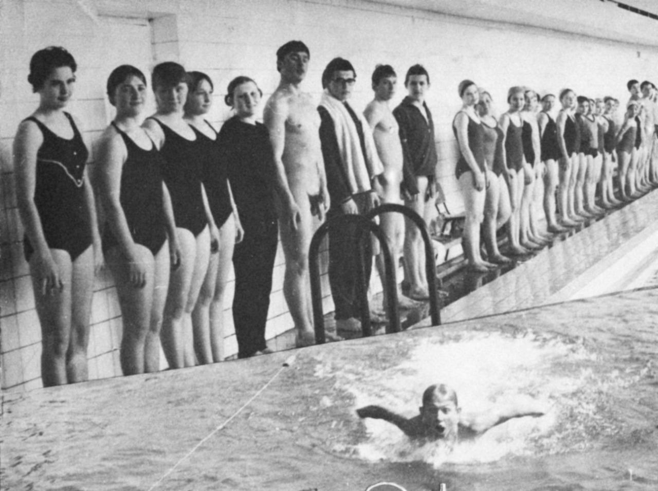 high school nude swim meets