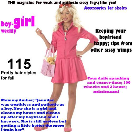 sissy blackmail humiliation captions