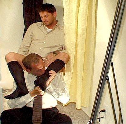 black men in otc socks