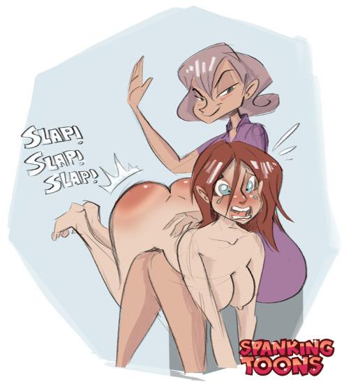 ff otk spanking captions
