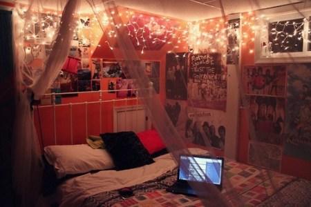 pink bedroom | tumblr