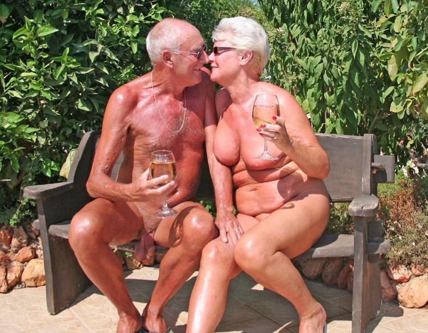 senior citizen boobs