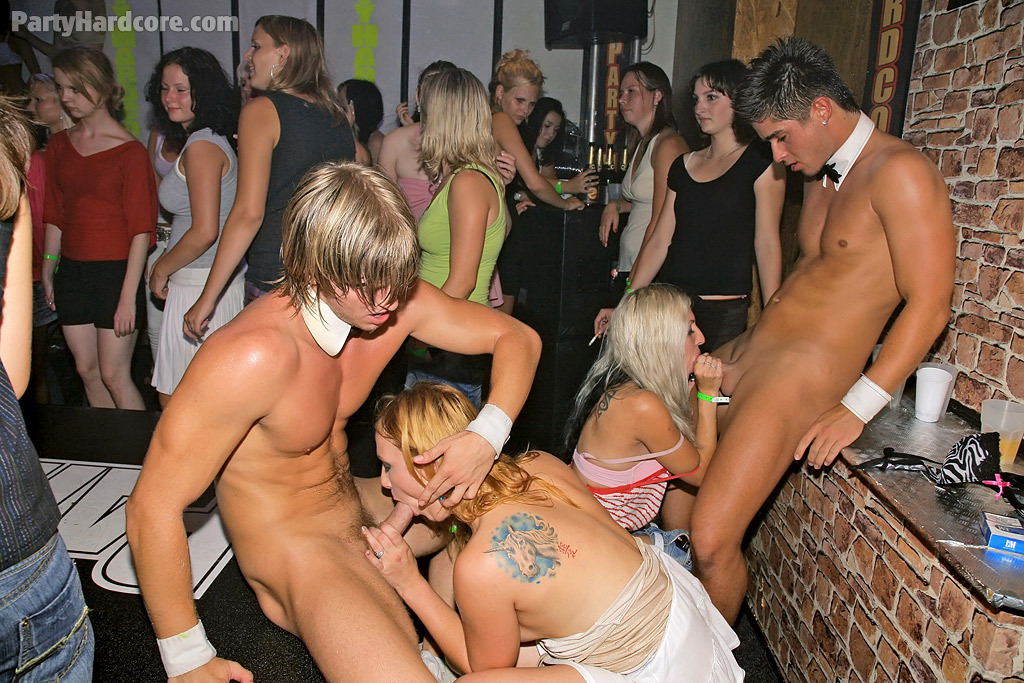Possible bachelorette party gangbang