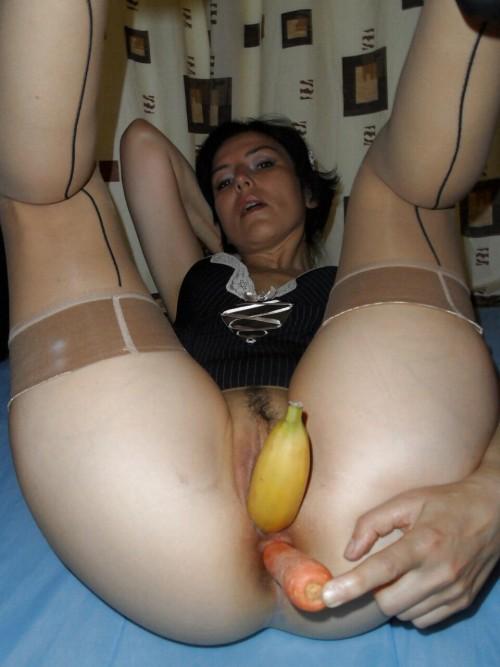 strange vaginal insertions