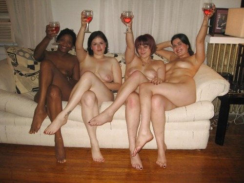 our naked family at home