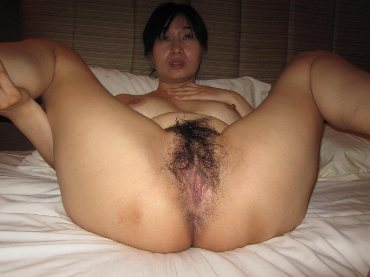 Homemade asian wife hairy me?