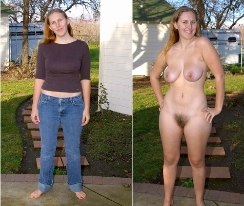 With then without clothes possible