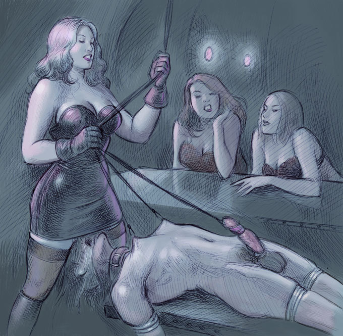 ballbusting castration hentai