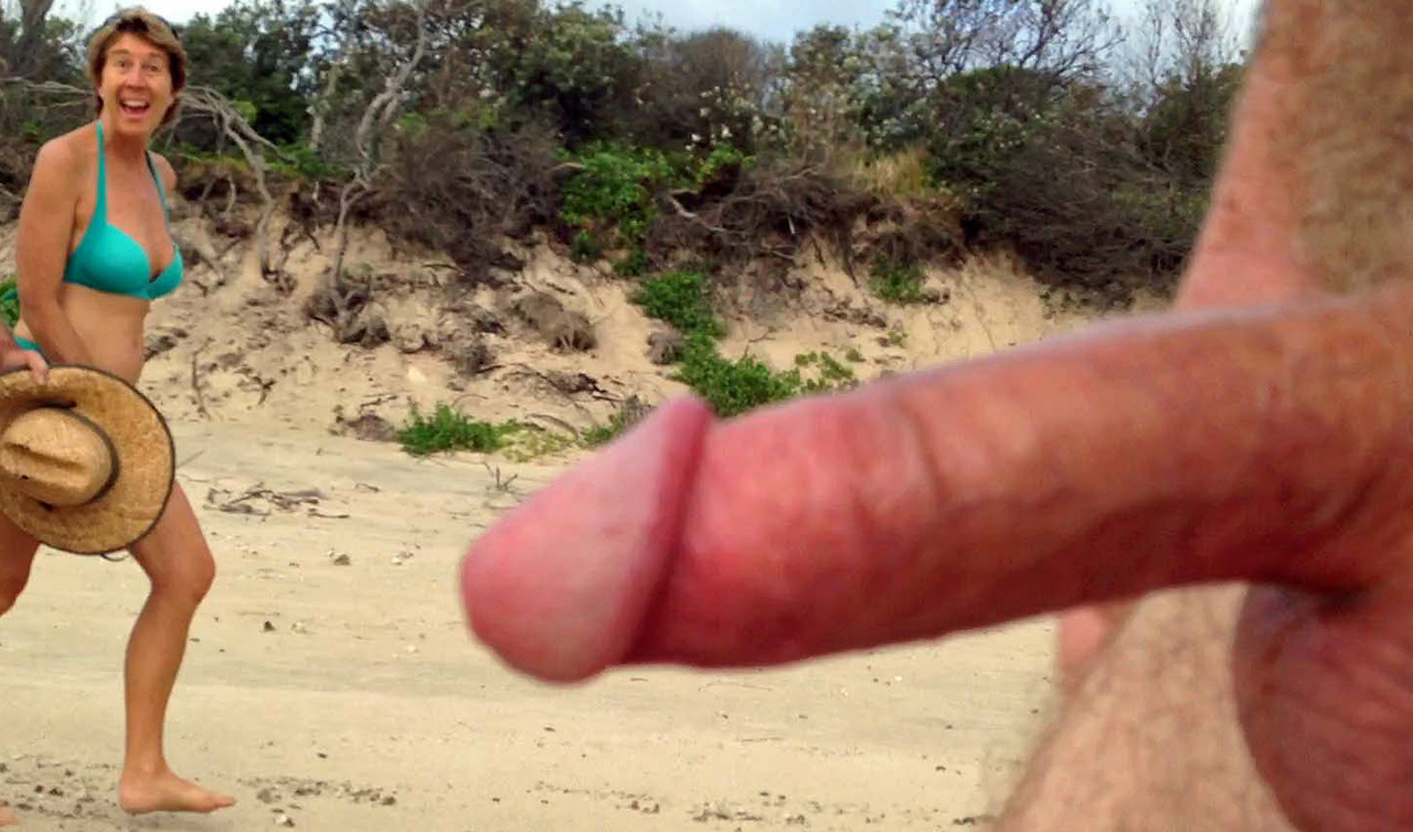 erection Mature nudist