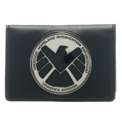the-absolute-best-gifs:  Wicked Clothes presents: the Marvel Agent of SHIELD Wallet!And don't forget to use coupon code 'SHIPFREE' to get free shipping on all U.S. orders today! Buy it here!