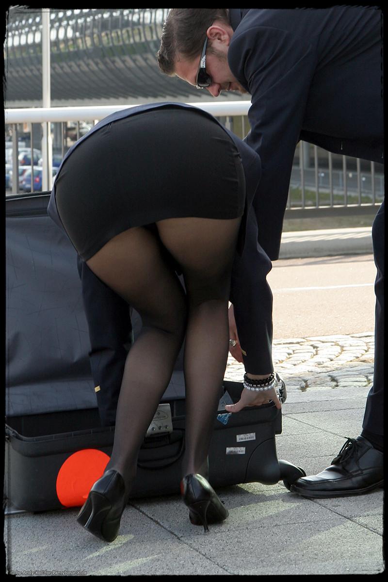 Fuck! gallery stewardess upskirt body