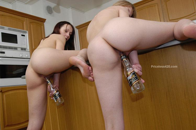 girl gets caught masturbating