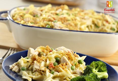 Paleo Campbell's Kitchen Tuna Noodle Casserole