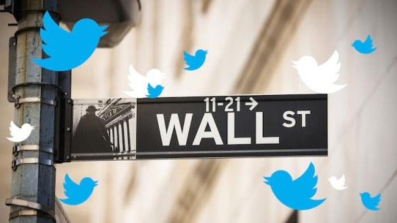 Twitter llega a Wall Street
