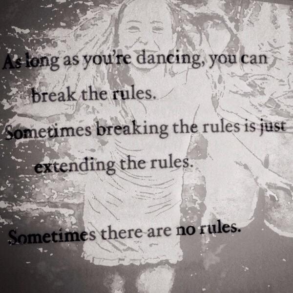 Dancing & Rules