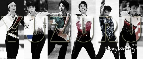 December 7, 2014 - Happy 20th Birthday Yuzu!  Dear Ice Prince,  Thank God I saw you on tv (that was during the Sochi Olympics). Yuzuru caught my attention the moment he stepped on the ice. The way he skated is really something different. Its beautiful and breathtaking. Plus you gotta see that wonderful smile and that face that says I'm here to be remembered. Been following him since the Olympics up till the Cup of China accident. I just wish you all the best Yuzu. Keep fighting like you've always did. Don't ever lose that smile and determination. Remember we, your fans are always here as well as Pooh (you still have tons of Pooh to receive so never give-up). Goodluck on the upcoming GPF Barcelona (^o^)/ Love you!