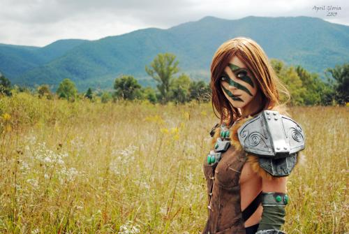 Skyrim - Aela the Huntress by April Gloria