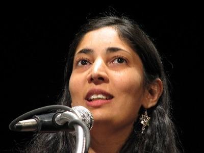Kiran Desai, the 2006 Booker winner for  The Inheritance of Loss