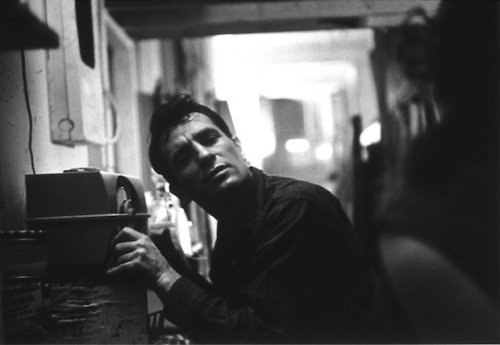 "theparisreview:""I spent my entire youth writing slowly with revisions and endless rehashing speculation and deleting and got so I was writing one sentence a day and the sentence had no FEELING. Goddamn it, FEELING is what I like in art, not CRAFTINESS and the hiding of feelings."" —Jack Kerouac, The Art of Fiction No. 41"