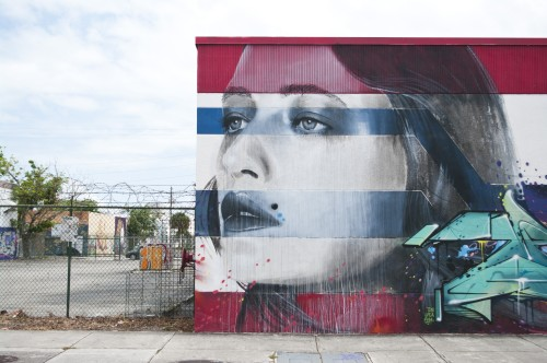 zeds:  Rone mural in Wynwood, Miami, 2013