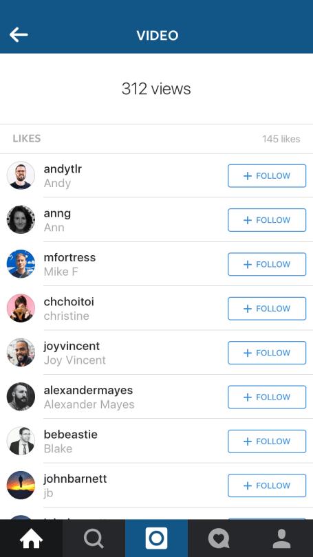 View Count bei Videos auf Instagram (Quelle: Instagram)