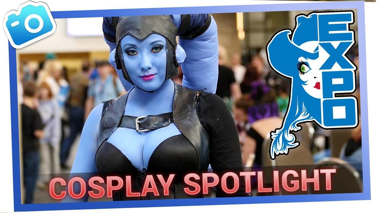 Star Wars TwiLek Cosplay at the Edmonton Expo [Video - 2mins]