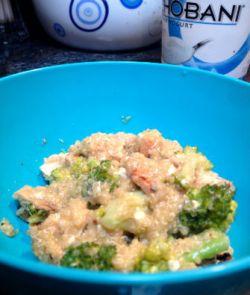 creamy quinoa alfredo recipe