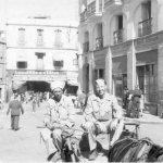 Charlie Farbach in Arab Taxi in Oran