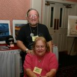 Bob and Betty Borell collectors of Night Fighter items.