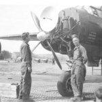 P-61 'Midnight Menace' getting radar work, Bolinski & Ca