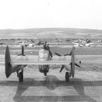 P-61 from the rear