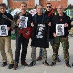 Concierto solidario de Banda Bassotti en Madrid