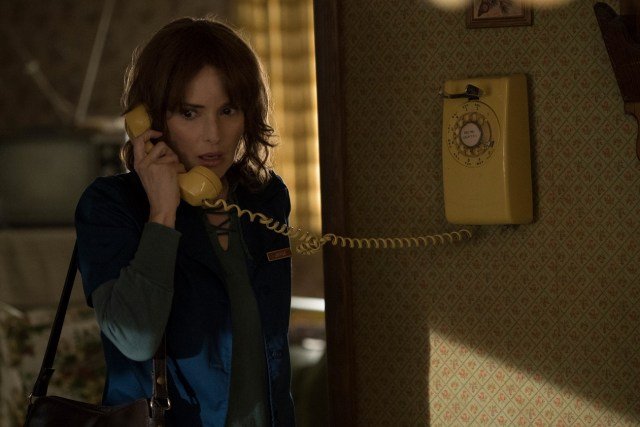 """Winona Ryder plays a panicked mother in """"Stranger Things,"""" multiplying the nostalgia factor."""