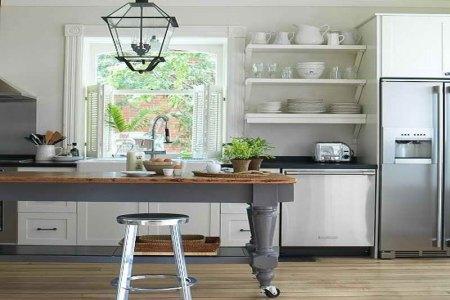 pics photos open kitchen shelves ideas