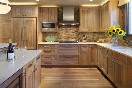 wooden kitchen designs modern clic style 17