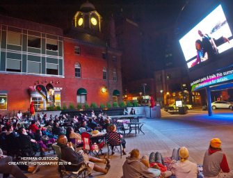 Free Outdoor Movies at Four Corners Brampton Extended Until Winter