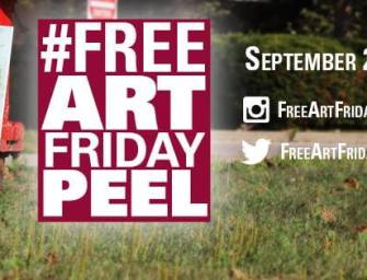 Free Art Friday: Scavenger Hunt & Free Art Across Peel On September 25th