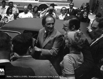 Photo of the Week: Pierre Trudeau Visits Brampton in 1974